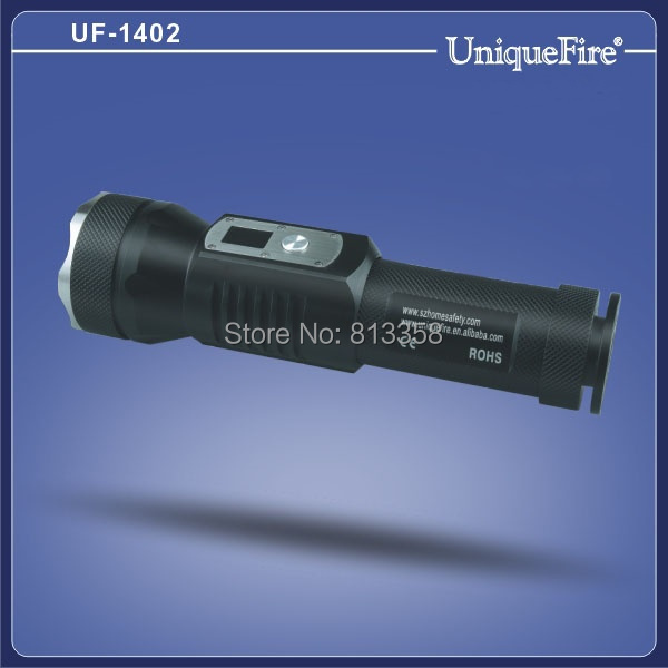 ФОТО UniqueFire UF-1402 1XCREE XM-L2 T6 1200 Lumen 5-Mode Led Flashlight Outdoor Lighting Tactical Flashlight