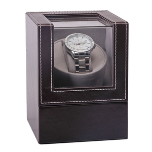 Image 5 - Collection Watch Winder Transparent Cover Automatic Mechanical Luxury Display Box Holder Motor Shaker Jewelry US Plug Case