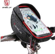 WHEEL UP Waterproof 6.0 inch Cycling Pouch Cellphone Bag MTB Road Bike Bicycle Front Top Tube Frame Handlebar