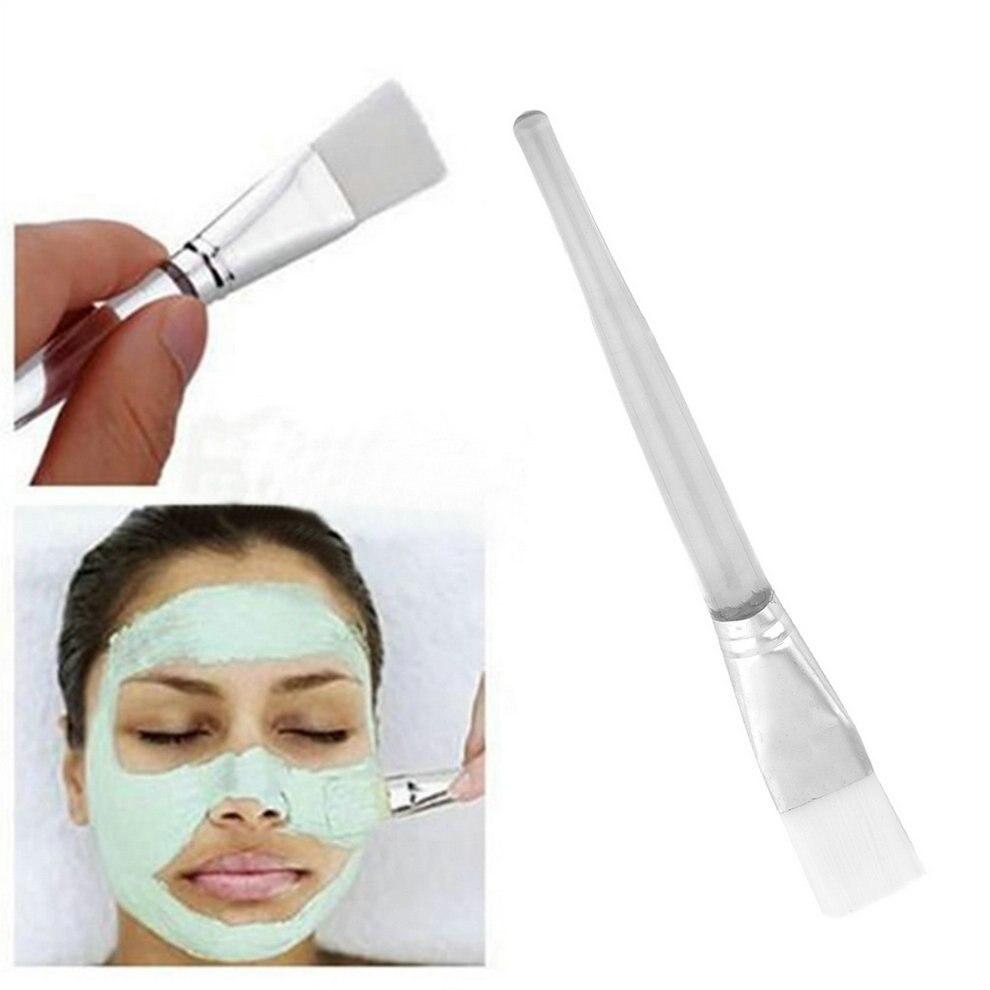 2Pcs Home DIY Women Lady Girl Facial Mask Face Eyes Makeup Cosmetic Beauty Soft Brush Tool