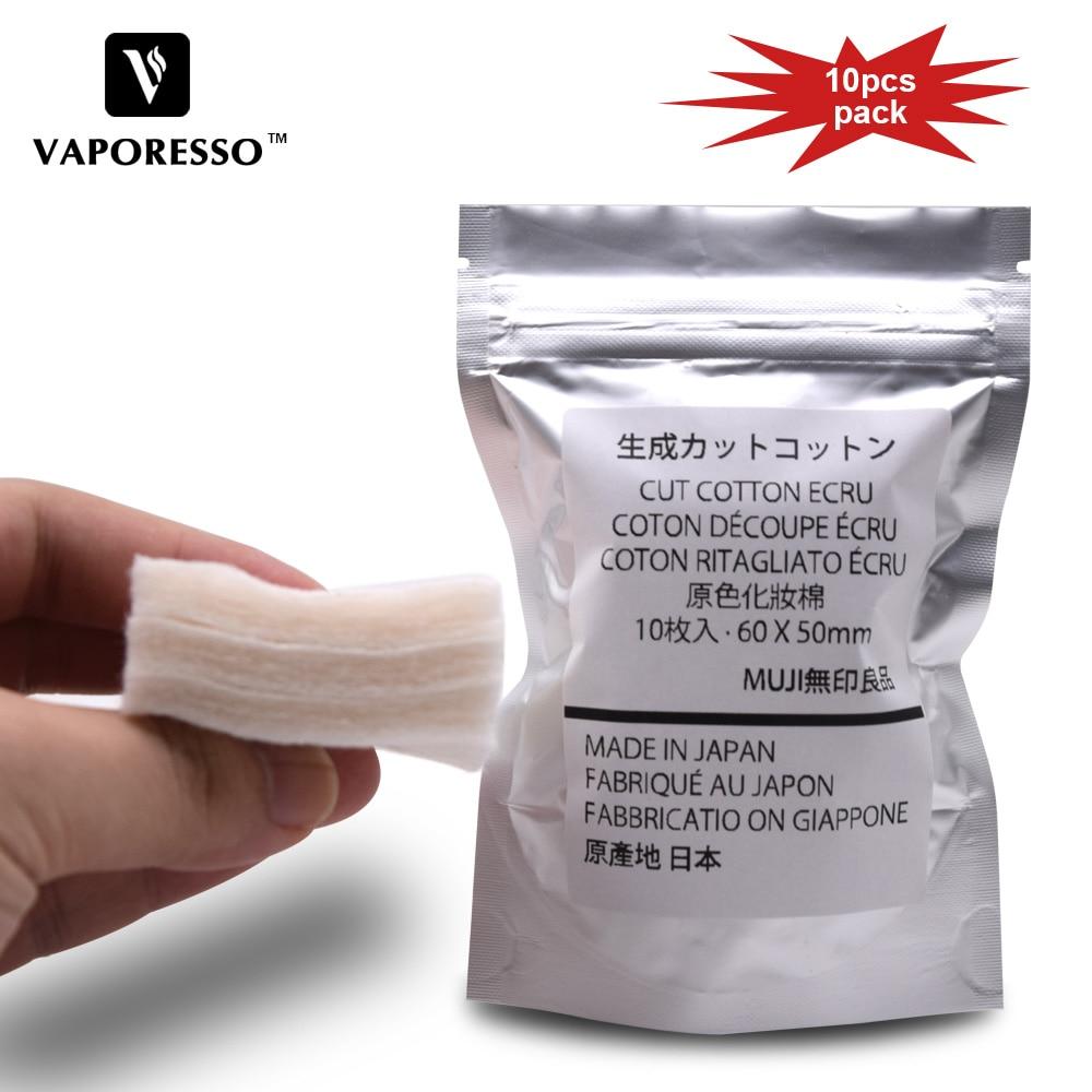 100% Original Japanska Organiska MUJI Cotton Elektroniska Cigaretter - Elektroniska cigaretter
