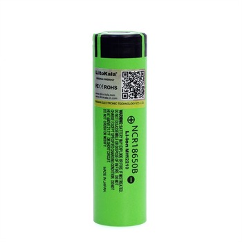 2018 Liitokala original 18650 3400mAh lithium ion battery NCR18650B 3.7V 3400 battery  1-10PCS Replacement Batteries