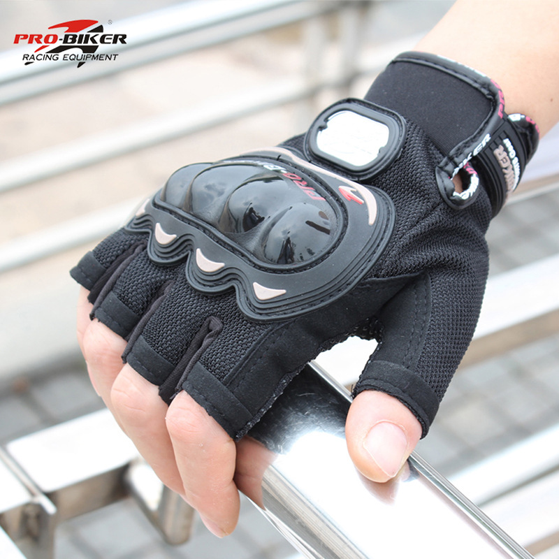 Hot Sale Half Finger Motorcycle Gloves Motorcross Racing Protective Offroad Riding Scooter Guantes Motocicleta Moto Glove MCS04C