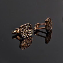 The high-end mens shirts Cufflinks collocation accessoriesgifts classic Mens Fashion Design carving high-quality Cufflinks cheap Zinc Alloy None Cuff Links Cuff Links Cuff Links Bohemia Simulated-pearl Plant Tie Clips Tie Clips Cufflinks Plain Metal