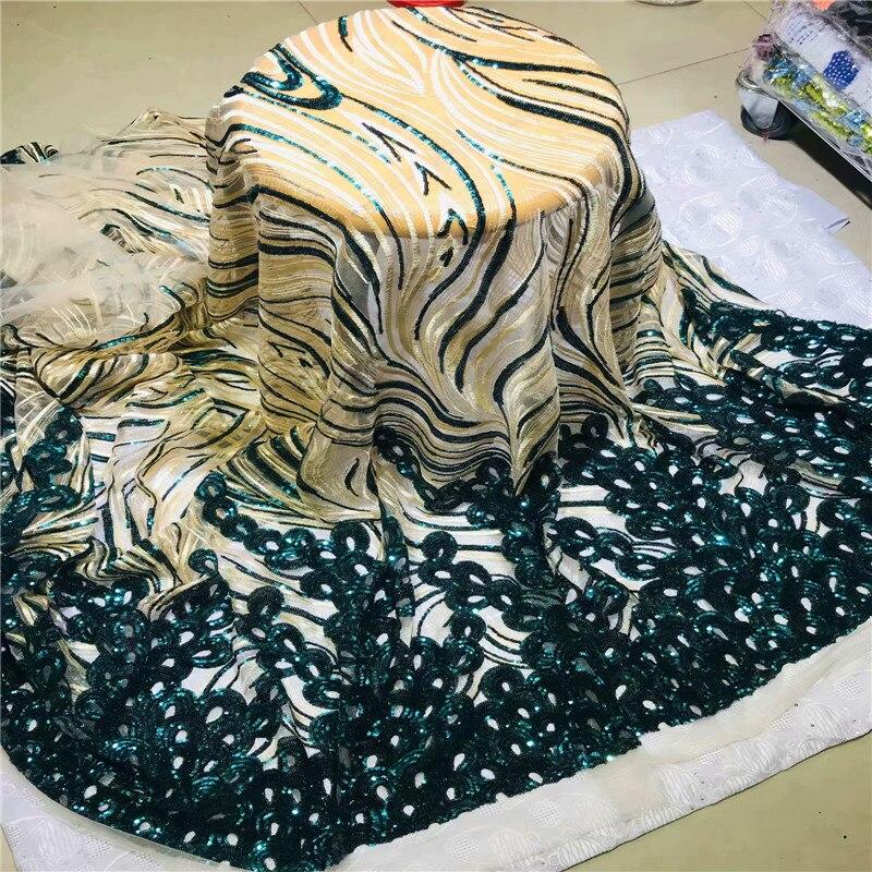 아프리카 레이스 패브릭 2019 수 놓은 나이지리아 끈 패브릭 신부 웨딩 2l30d13 11 에 대 한 고품질 프랑스어 얇은 명주 그물 패브릭-에서레이스부터 홈 & 가든 의  그룹 2
