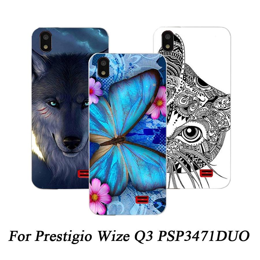 Case-Cover Prestigio PSP3471DUO Wize Q3 Soft-Silicone For Colorful New-Arrival