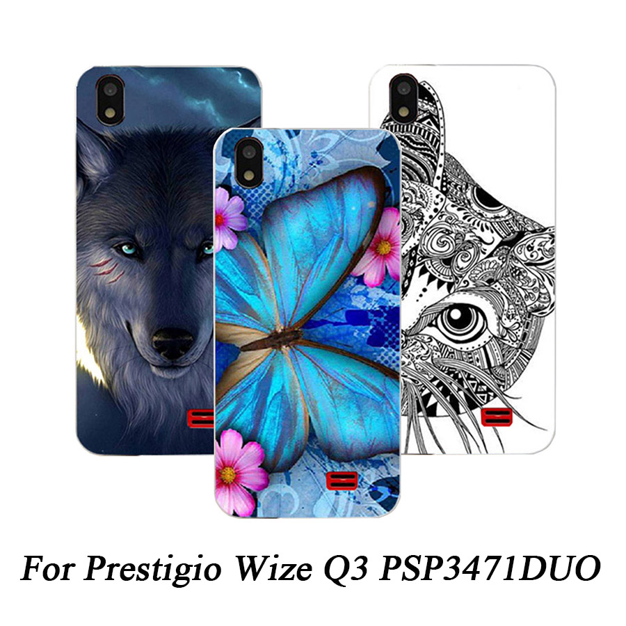 New Arrival colorful Case Cover For Prestigio Wize Q3 PSP3471DUO soft Silicone Back Cover For Prestigio Wize Q3 Protective Cover image