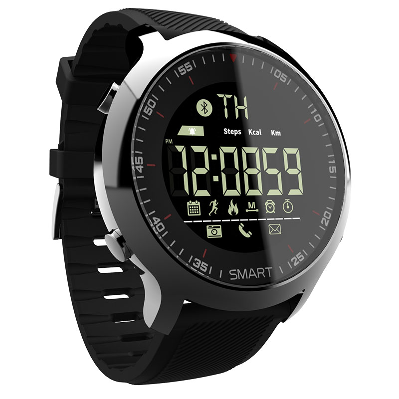 LOKMAT Smart Watch Sport Waterproof pedometers Message Reminder Bluetooth Outdoor swimming men smartwatch for ios Android phone 5