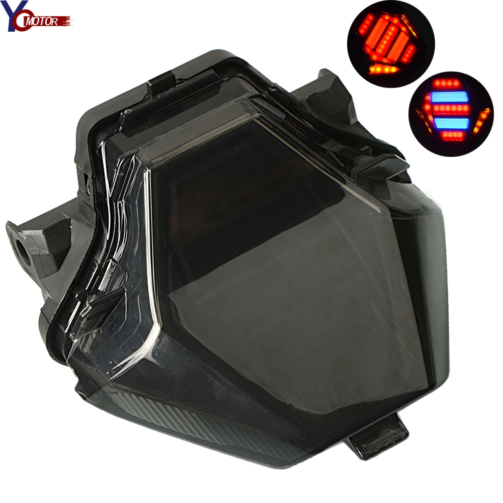 ABS plastic Motorcycle Tail Light Integrated LED Turn signal Blinker FOR YAMAHA MT-07 YZF R25 R3 MT07 MT-07  2013 2014 2015 2016ABS plastic Motorcycle Tail Light Integrated LED Turn signal Blinker FOR YAMAHA MT-07 YZF R25 R3 MT07 MT-07  2013 2014 2015 2016