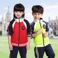 XXS 4XL Adults Primary School Uniforms Teenage Kids Clothing Sports Suit Boys Girls Baseball Tracksuit Outfits