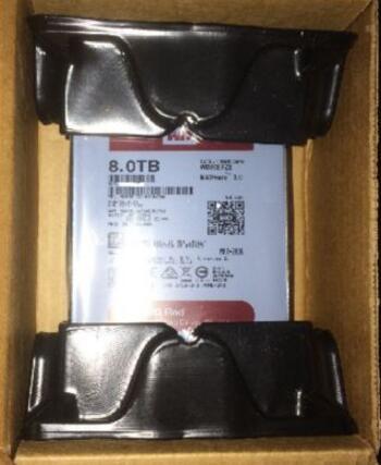 Hard drive WD80EFZX 3.5