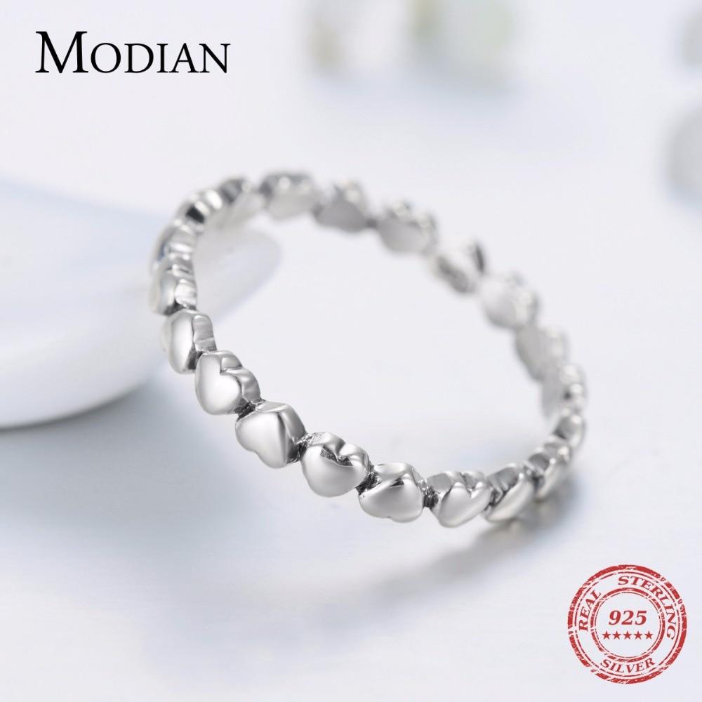 Hot Authentic Original Fashion 100% Solid 925 Sterling Silver Heart - Märkessmycken - Foto 4