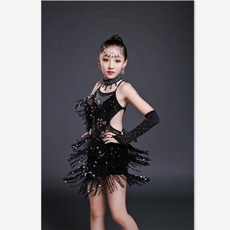 Black dress toddler zumba