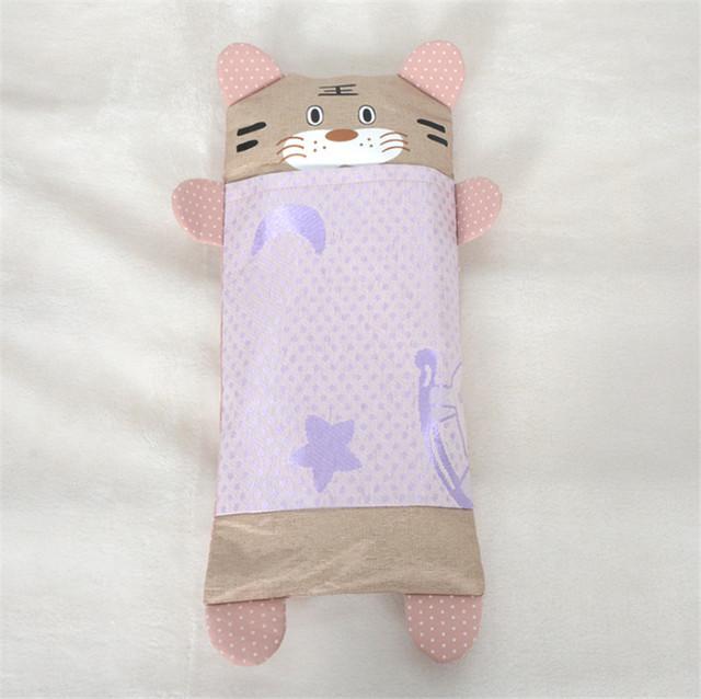 1 pc 44*21 cm Em Forma de Tigre Bebê Travesseiro Verão Estilo Almofadas De Resfriamento Para anos de idade Os Bebês Crianças Dos Desenhos Animados frete Grátis