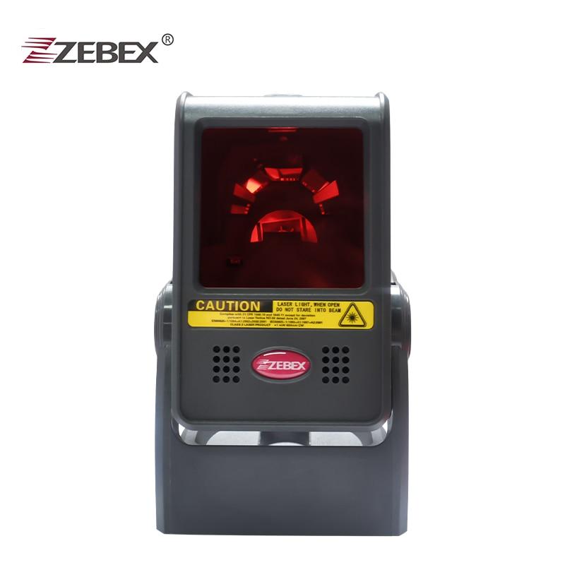 ZEBEX Z-6031 Laser Flatbed Barcode <font><b>Scanner</b></font> 20 Lines Desktop Omnidirectional Bar code Reader 1D laser barcode <font><b>scanner</b></font>