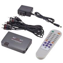 Mini Portable RF To AV Analog TV Receiver RF To AV Converter