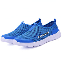 YeddaMavis Men Shoes Summer Mesh Sandals Casual  Loafers Fashion Male Flats Outdoor Walking Sneakers Zapatos De Hombre