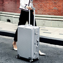 TRAVEL TALE-maleta de viaje giratoria con marco de aluminio, Maleta de viaje con ruedas de 26