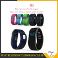 Blood Pressure Blood Oxygen Smartband Heart Rate Monitor M5 Bluetooth Smart Band Bracelet Sport Watch Wristband for iOS Android