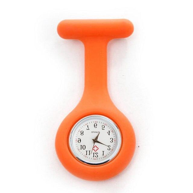 Relogio Feminino Clocks Women Ladies Watch Silicone Nurse Watches Brooch Tunic Watch Doctor Medical watches 20