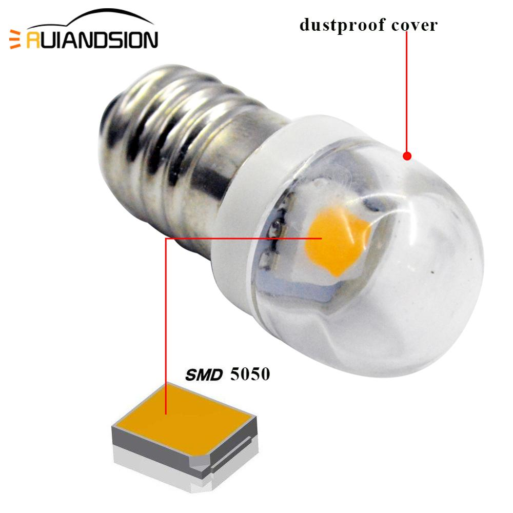 2pcs Lamp E10 LED Bulb 3v 6v 12v 1smd Lamp 0 5w 5050 White Screw Plug LED Indicator Light Source Accessories Warm white 4300k in Signal Lamp from Automobiles Motorcycles