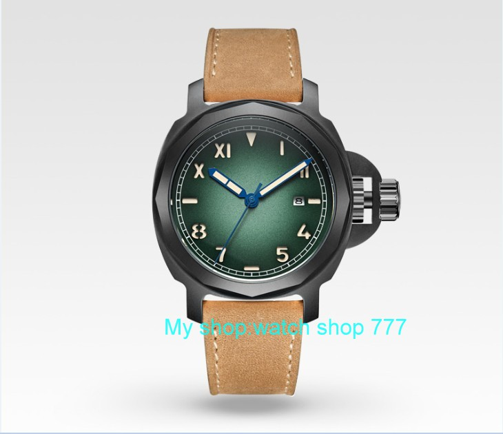 44mm Parnis Sapphire Crystal Japanese 21 jewels Automatic Self-Wind Movement Mechanical watches 10Bar Luminous Men's watches j9 толстовка с капюшоном худи adidas community hoody taekwondo серо черная l adichtkd