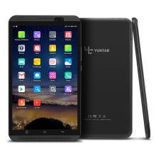 Yuntab 8 inch 4G Tablet PC H8 Android 6.0 dual SIM Card Cell phone Quad-Core 2GB RAM 16GB ROM Mobile Phone with dual camera