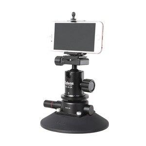 Image 4 - Selens 5.9 inç güç kavrama vakum vantuz kamera yatağı sistemi DSLR kamera Video akıllı telefon Gopro
