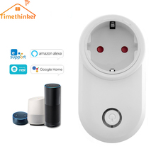 Timethinker Ewelink Home WiFi Smart Socket US EU UK Plug Power Outlet APP Voice Remote Control for Alexa Echo Google Home IFTTT