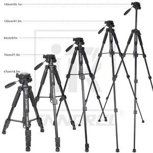 Image 5 - Neue Zomei Q111 Aluminium Legierung Mini Tragbare Stativ für DSLR kamera professionelle licht compact travel stehen