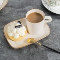 Retro Simple Afternoon Tea Coffee Mugs Set 150ml Oarse Pottery Coffee Mugs Ceramic Dim Sum Mugs