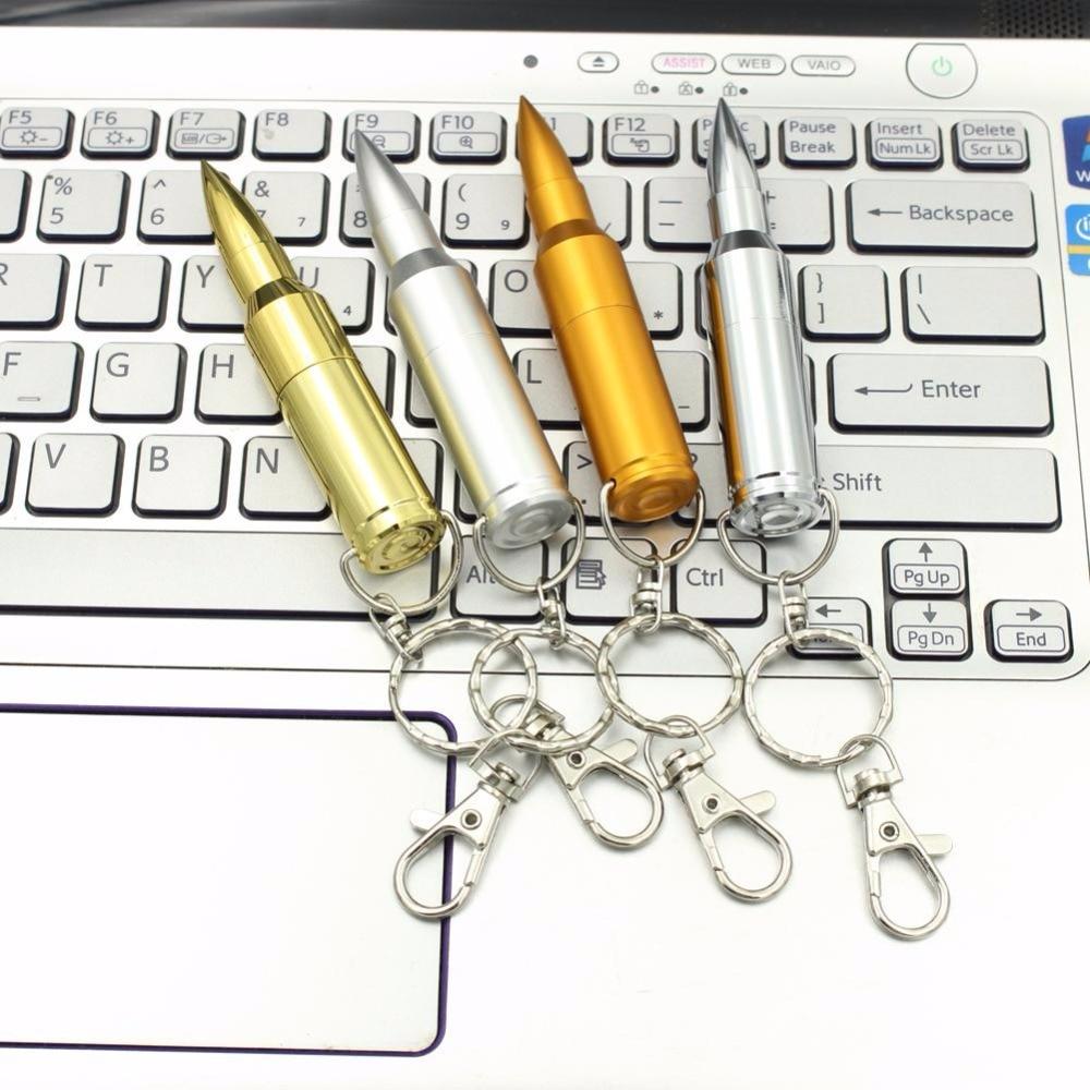 High quality funny gifts Metal Bullet shape usb 3 0 flash font b drive b font