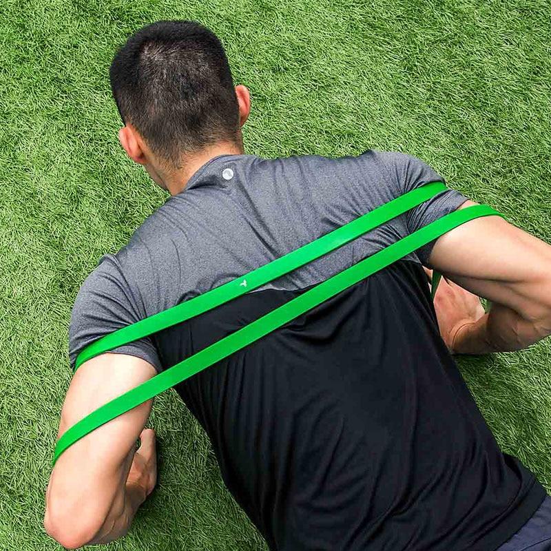 Image 5 - Xiaomi Mijia Qihao фитнес стрейч браслет в форме тела упражнения прочность натуральный латекс портативный подходит для спорта и фитнеса-in Умный пульт управления from Бытовая электроника