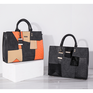 Image 4 - Женская сумка, дизайнерские сумки, высококачественные женские сумки, женская сумка тоут в стиле пэчворк, женская сумочка с металлической подвеской, SY2136