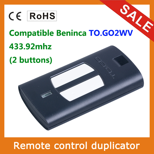 rf transmitter rf remote control compatible with beninca TOGO