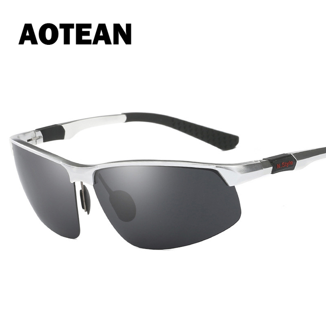 759352ce29e AOTEAN Brand Design Men s Polarized Sunglasses Fashion Driving Fishing  Sunglasses Male Polarized uv400 High Quality 3121