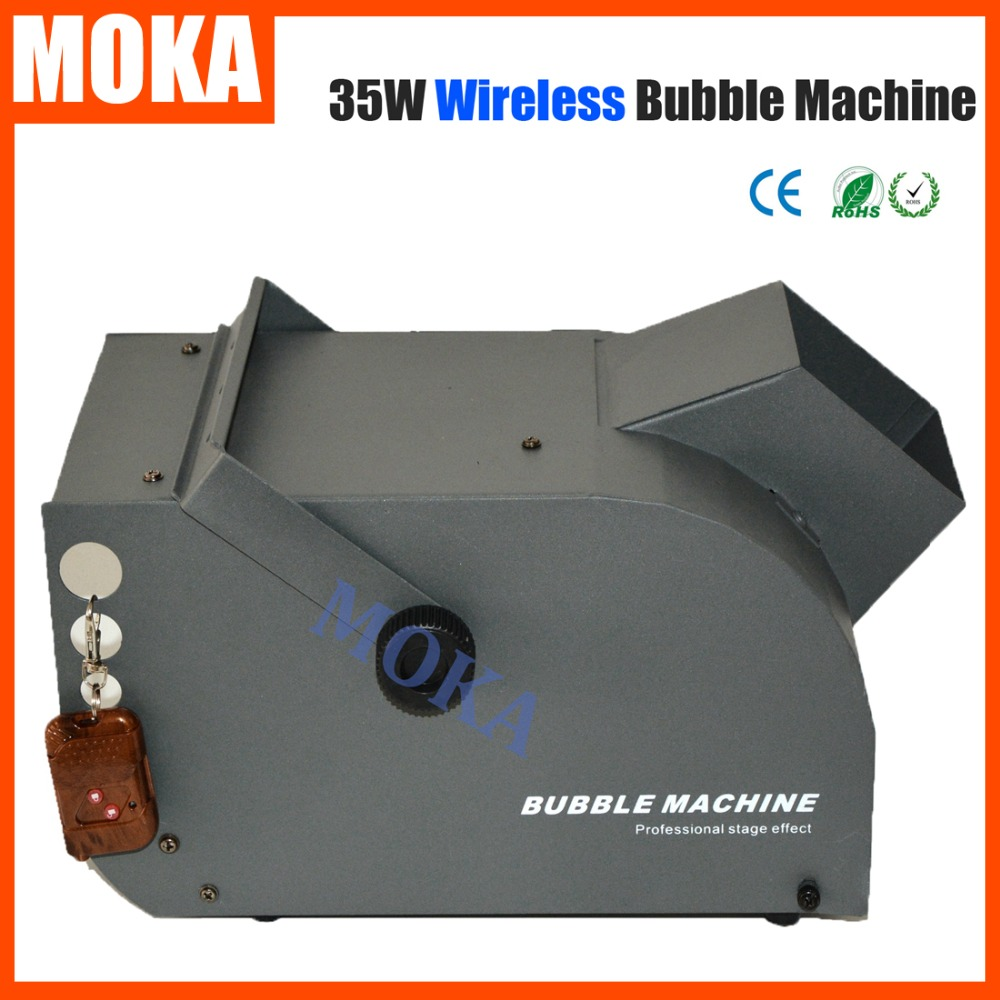 automatic bubble machine
