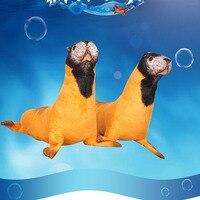 1pc 50cm Cute Simulation Stuffed Sea Lion Plush Toys Soft Sofa Pillow Kawaii Cartoon Animal Seal Toy Doll for Kids Lovely Gift