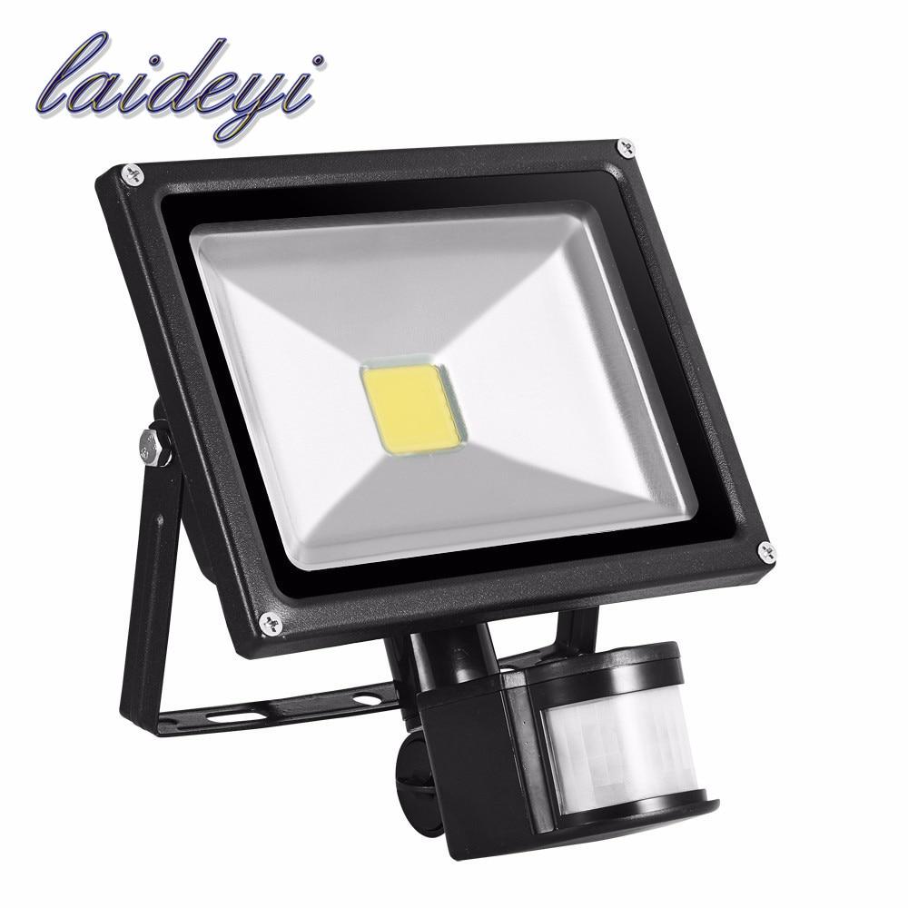 85V 265V 20W led flood light PIR floodlightmotion sensor IP65 waterproof Floodlight illumination led flood outdoor LED spotlight