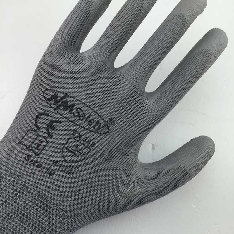 Image 2 - NMSAFETY 13 Gauge Knitted Work Protective Glove-in Safety Gloves from Security & Protection