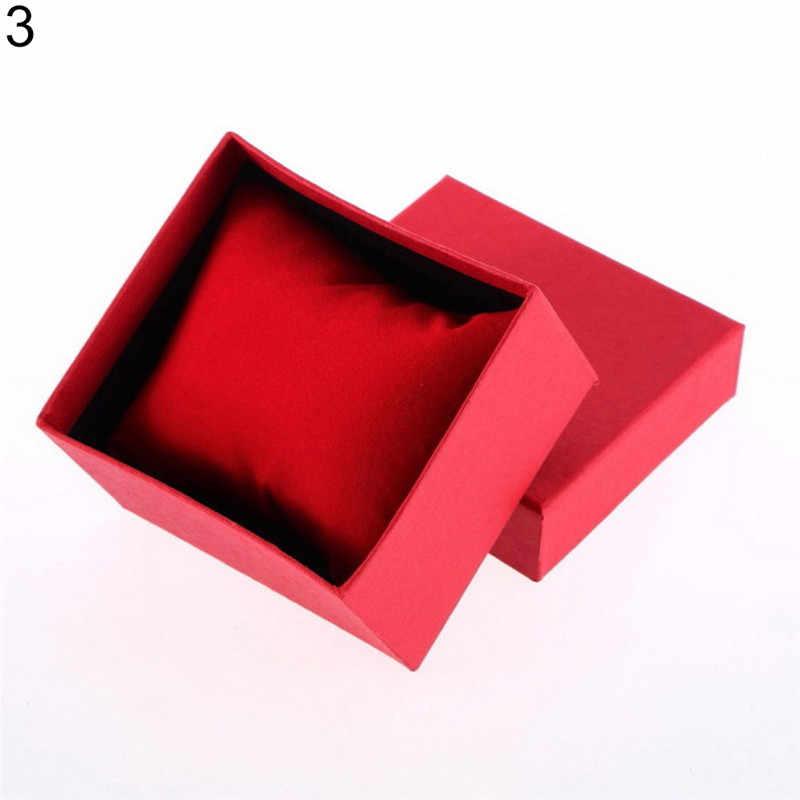 2019 Роскошный топ-бренд, красная коробка для часов, картонная подарочная упаковка, прямоугольные высококачественные кварцевые часы, упаковочная коробка, коробка для ювелирных изделий, подарки