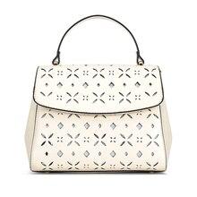 Г-жа мешок 2016 новая мода полые минималистский портативный плечо сумка небольшая площадь пакет