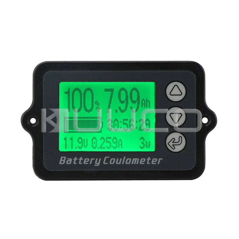 Digital Meter DC 8~80V 50A Battery Coulometer Universal Battery Capacity Tester for LiFePo Coulomb Counter 50v 100a precise real capacity tester coulomb counter coulometer for lifepo4 lithium lipo liion battery 12000761