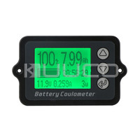 Digital Meter DC 8 80V 50A Battery Coulometer Universal Battery Capacity Tester For LiFePo Coulomb Counter