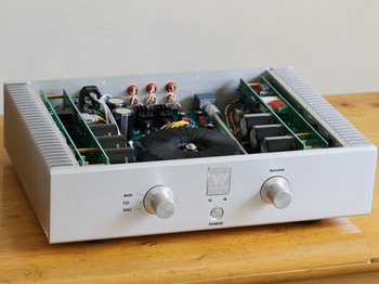 100W*2 dual-channel power amplifier with MBL6010 front-level fully symmetrical X-Amp design