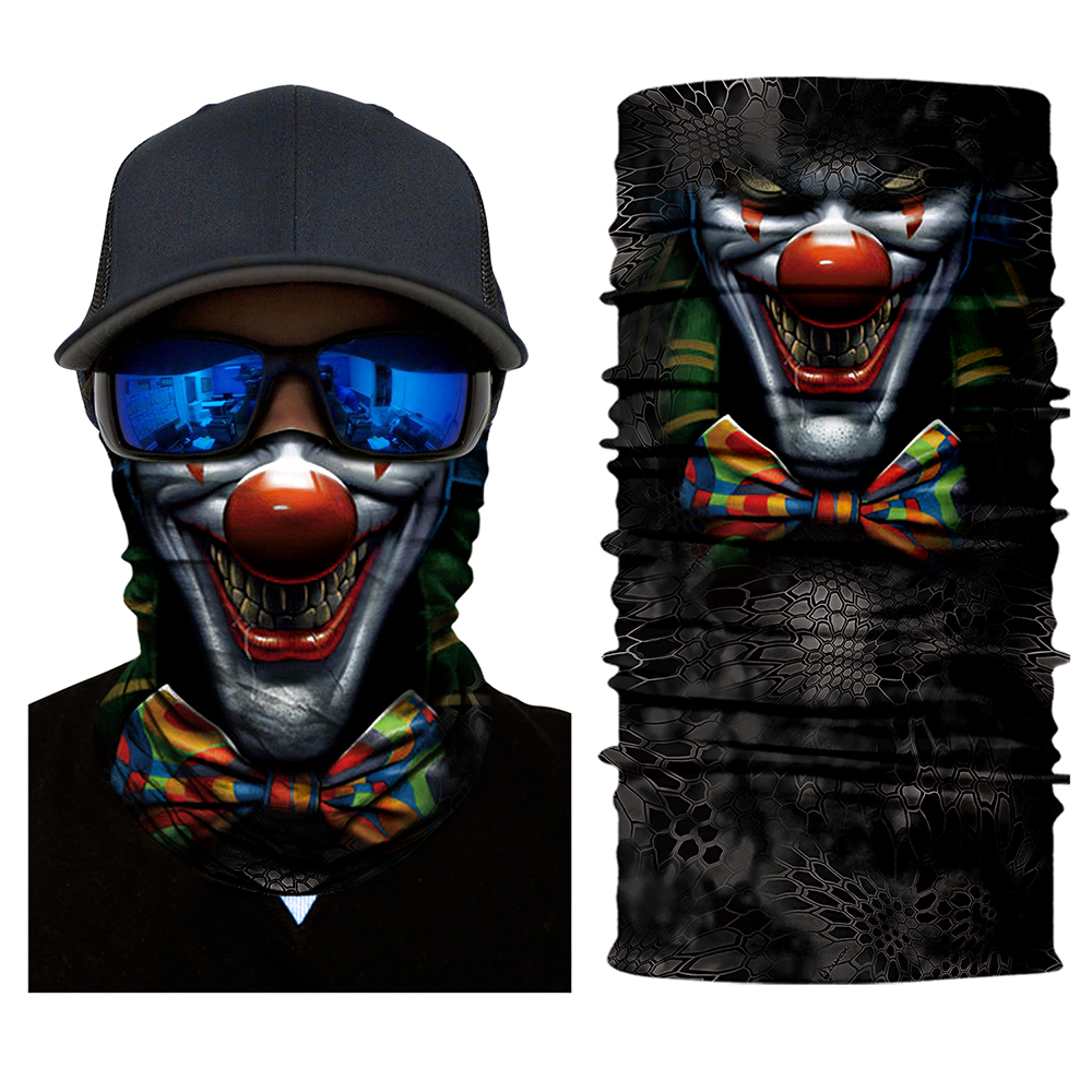 Cycling Scarves Climbing Wicking Seamless Washouts Scarf Fashion Skull mask Ride Bandanas Sport Face mask Motorcycle bike Scarf in Motorcycle Face Mask from Automobiles Motorcycles