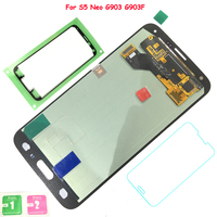 New HD AMOLED LCD Display For Samsung Galaxy S5 Neo G903 G903F LCD Display Touch Screen