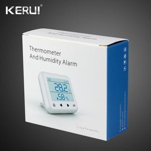 Image 5 - Kerui 433mhz atualizado sem fio display led de temperatura ajustável alarme detector sensor proteção para casa sistema alarme