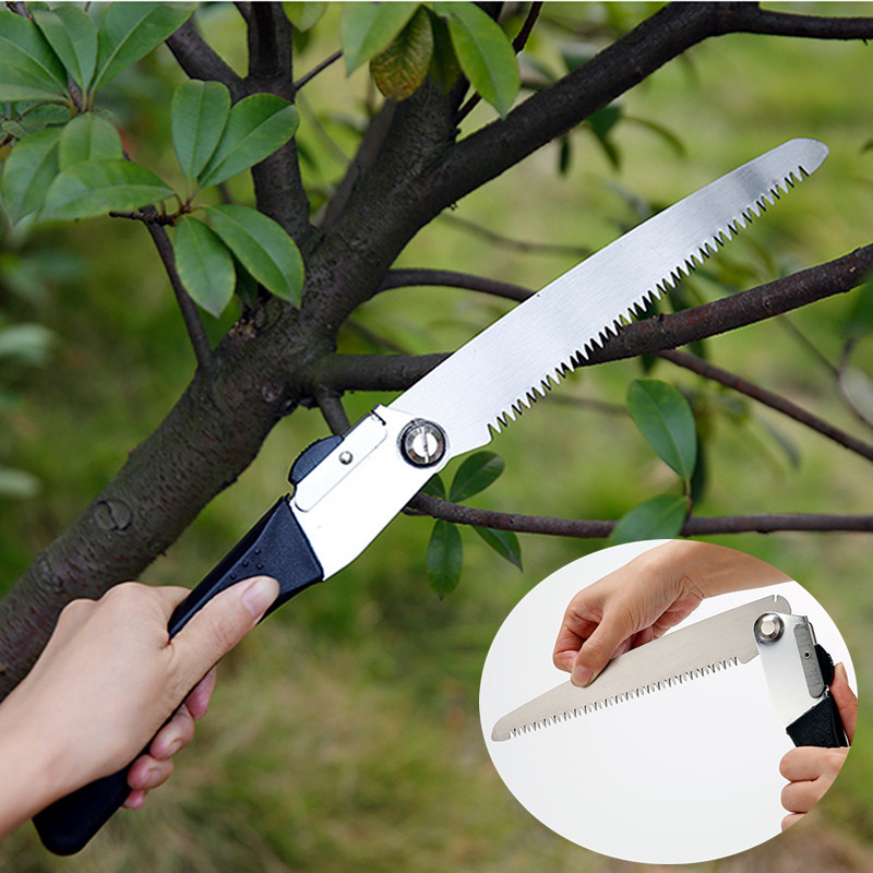 2016 New Garden Hand Saw Woodworking Tools Hand Saw Hacksaw Folding Saw  Imported Household Stainless Steel Saws Free Shipping