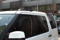 car styling Metal Black Car Side Bars Rails Roof Rack 1set For Land Rover LR4 Discovery 2010 2011 2012 2013 2014 2015